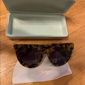 Karen Walker Tortoise shell faithful sunglasses